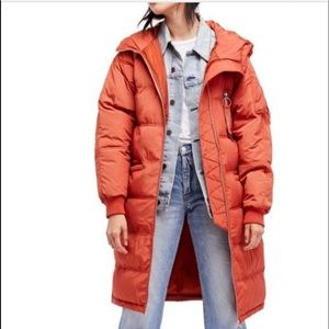Free people puffer coat